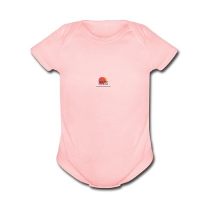 logo for lucas - Short Sleeve Baby Bodysuit