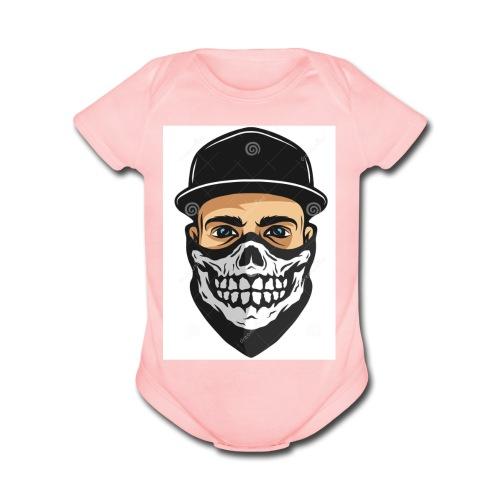 InfernoGangsta - Organic Short Sleeve Baby Bodysuit