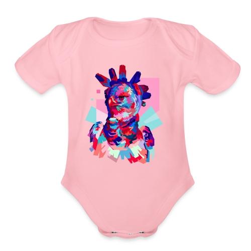 HARPY EAGLE - Organic Short Sleeve Baby Bodysuit