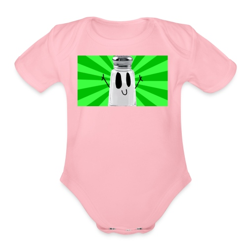 SaltShaker Productions 2018 limited edition merch - Organic Short Sleeve Baby Bodysuit