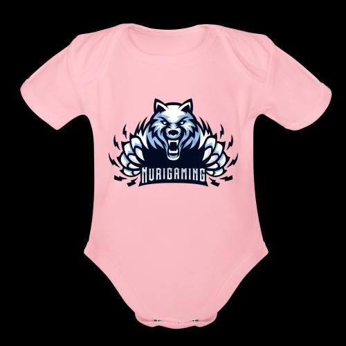NuriGaming🐺 - Organic Short Sleeve Baby Bodysuit
