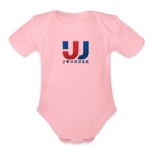 jwonder brand - Organic Short Sleeve Baby Bodysuit