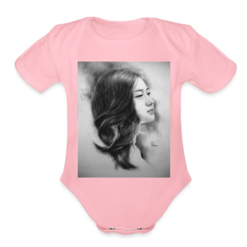 Anh 1 - Organic Short Sleeve Baby Bodysuit