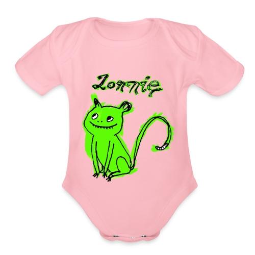 Lonnie - Organic Short Sleeve Baby Bodysuit