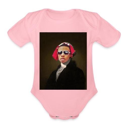 Finesse Founder - Organic Short Sleeve Baby Bodysuit