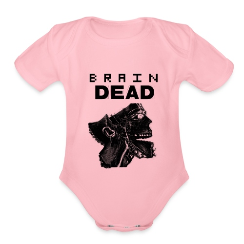 braindead - Organic Short Sleeve Baby Bodysuit