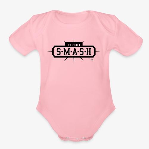Fitch SMASH LLC. Official Trade Mark 2 - Organic Short Sleeve Baby Bodysuit