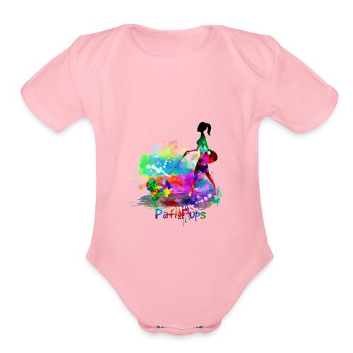 Patio Pups - Organic Short Sleeve Baby Bodysuit