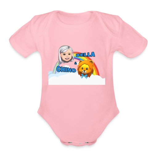 Bella And Chino Official - Organic Short Sleeve Baby Bodysuit