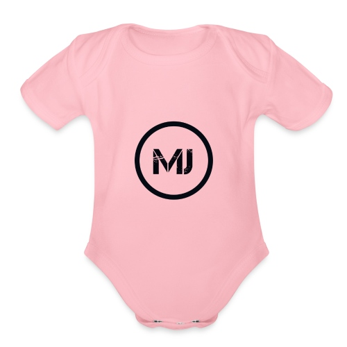 MARK Johnson - Organic Short Sleeve Baby Bodysuit