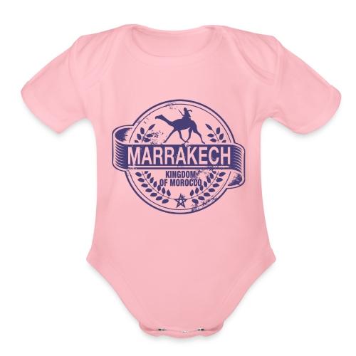 Moroccan Traveler - Organic Short Sleeve Baby Bodysuit