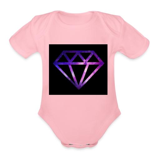 SammyYT - Organic Short Sleeve Baby Bodysuit