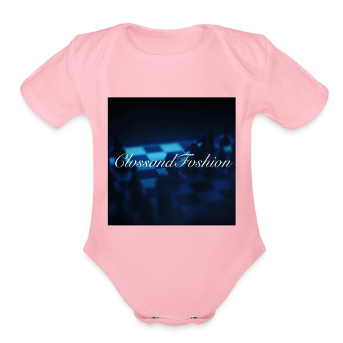 ClvssandFvshion - Organic Short Sleeve Baby Bodysuit