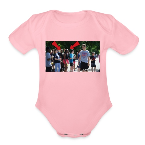 Craiglawrencemerch - Organic Short Sleeve Baby Bodysuit