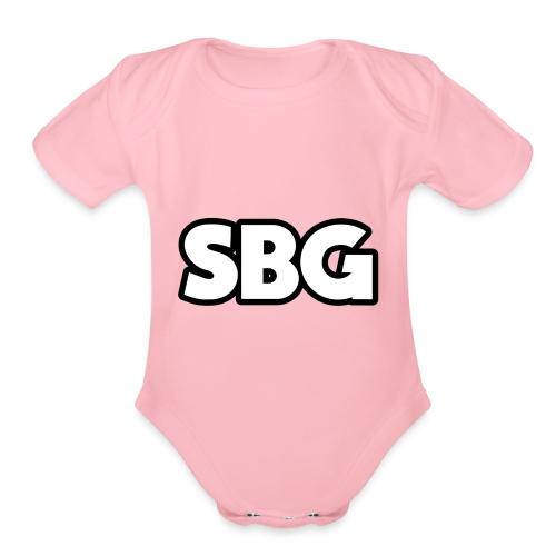 SBG - Organic Short Sleeve Baby Bodysuit