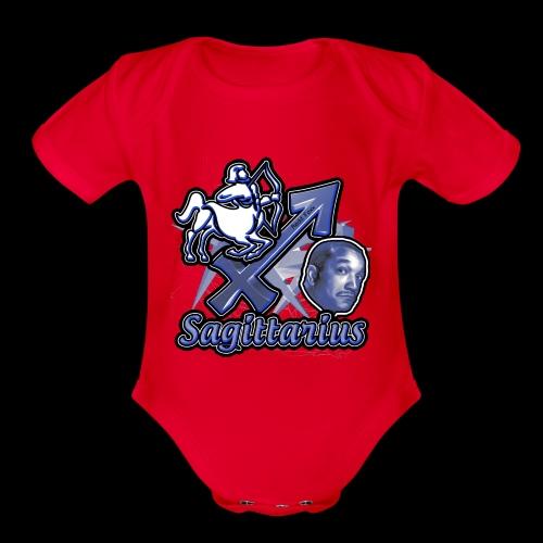 Sagittarius Redd Foxx - Organic Short Sleeve Baby Bodysuit