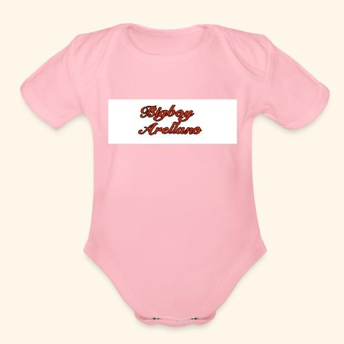 Bigboy Arellano - Organic Short Sleeve Baby Bodysuit