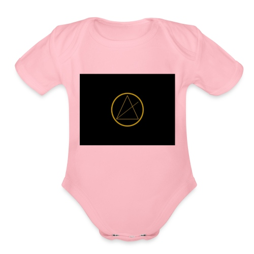 atlas - Organic Short Sleeve Baby Bodysuit