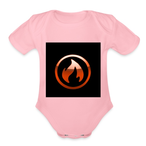new merch avi - Organic Short Sleeve Baby Bodysuit