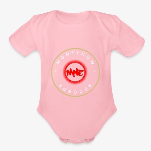 MoneyNow Records - Organic Short Sleeve Baby Bodysuit
