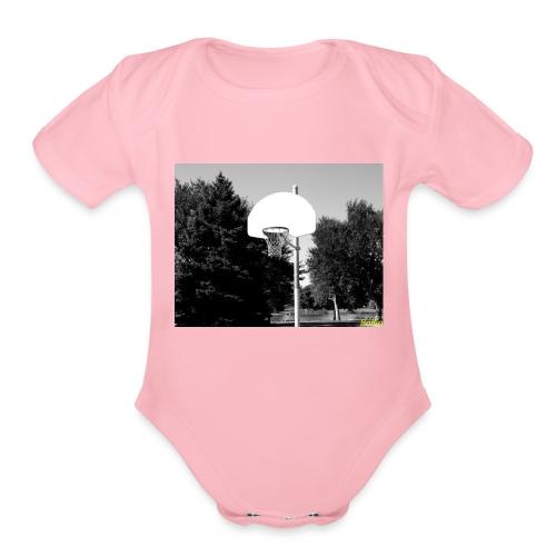 Ballin - Organic Short Sleeve Baby Bodysuit
