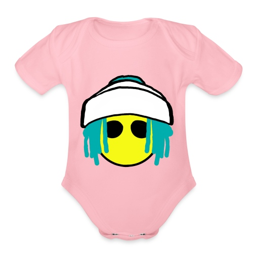 Dread Land - Organic Short Sleeve Baby Bodysuit