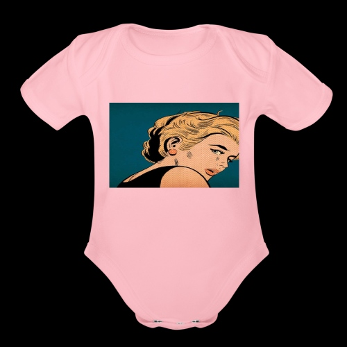 OH MY! - Organic Short Sleeve Baby Bodysuit