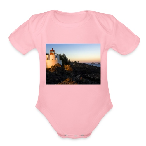 Lighthouse - Organic Short Sleeve Baby Bodysuit