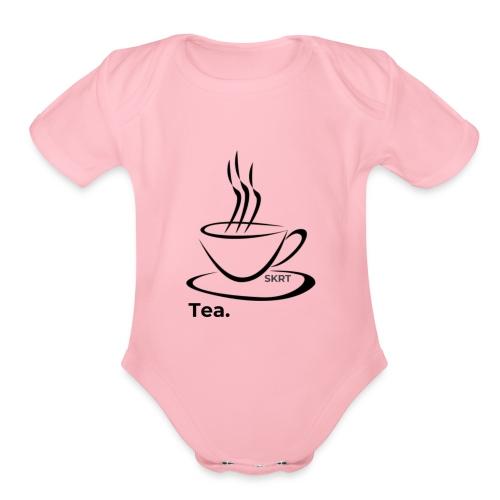 Tea. - Organic Short Sleeve Baby Bodysuit