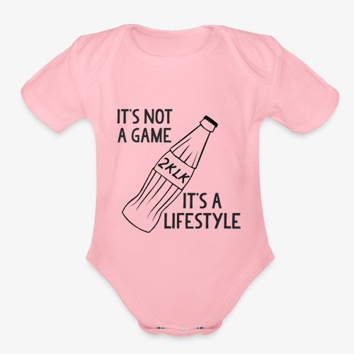 2klk - Organic Short Sleeve Baby Bodysuit
