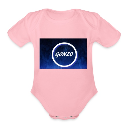 gonzo - Organic Short Sleeve Baby Bodysuit