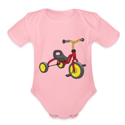 Tricycle for kids - Organic Short Sleeve Baby Bodysuit