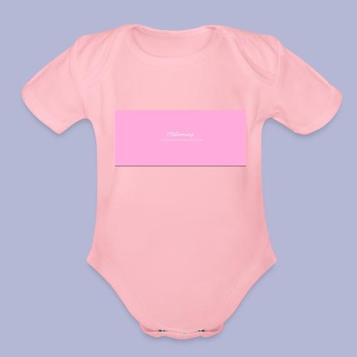 TP_shirt_logo2 - Organic Short Sleeve Baby Bodysuit