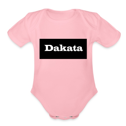 Untitled 1 - Organic Short Sleeve Baby Bodysuit