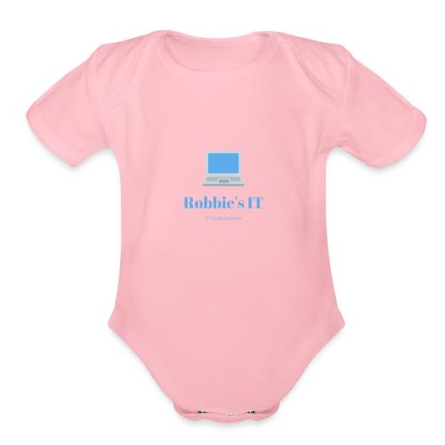 Robbie s IT - Organic Short Sleeve Baby Bodysuit
