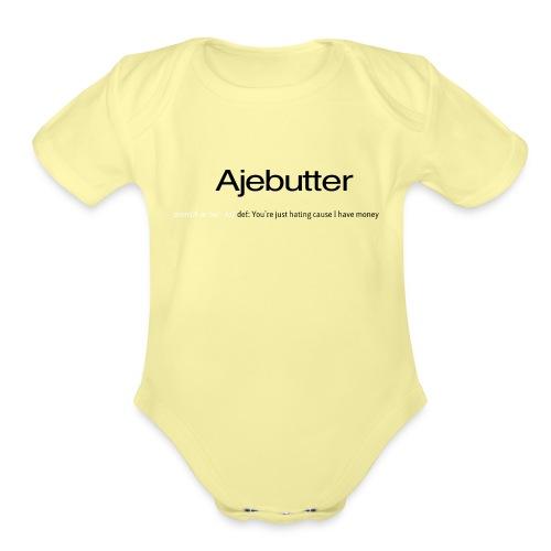 ajebutter - Organic Short Sleeve Baby Bodysuit