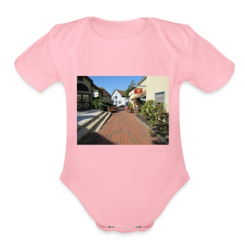 Historic Village - Organic Short Sleeve Baby Bodysuit