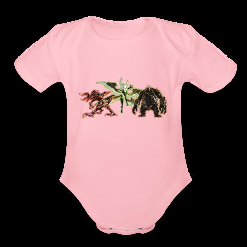 FFXIV Primals - Organic Short Sleeve Baby Bodysuit