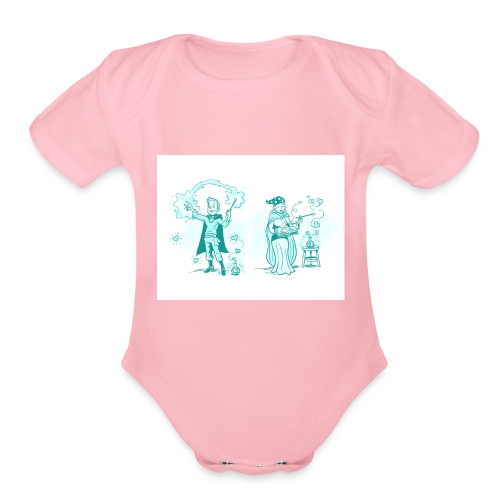 TEST DESIGN - Organic Short Sleeve Baby Bodysuit