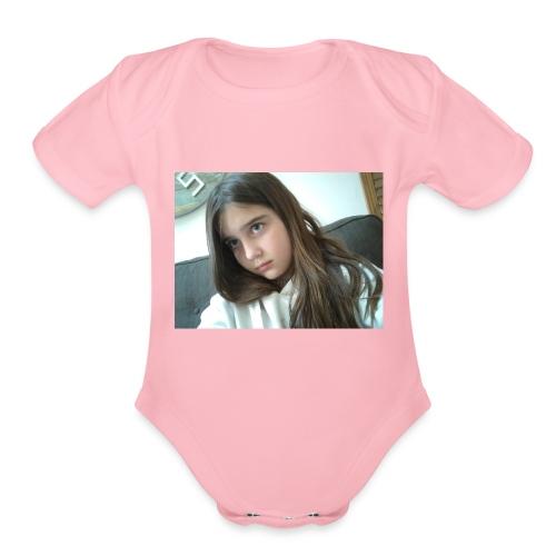 15241756546531677564720 - Organic Short Sleeve Baby Bodysuit