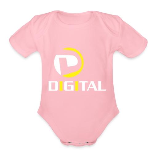 Digital - Organic Short Sleeve Baby Bodysuit
