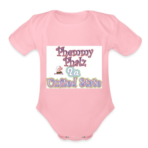 phemmy - Organic Short Sleeve Baby Bodysuit