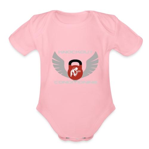 Knockout Conditioning - Organic Short Sleeve Baby Bodysuit