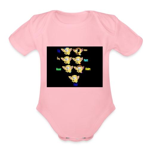 Next Gen Reffs - Organic Short Sleeve Baby Bodysuit