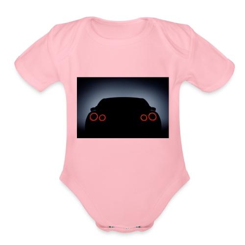 Nissan GTR - Organic Short Sleeve Baby Bodysuit