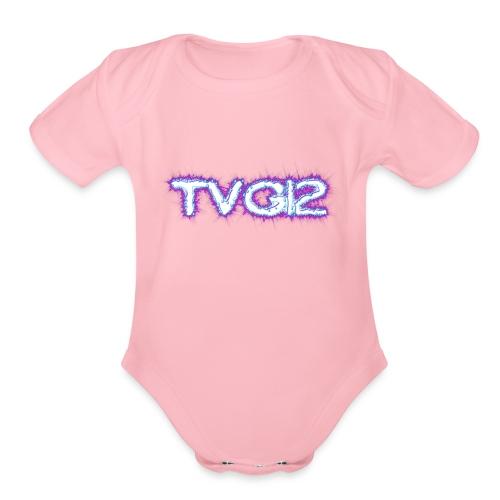 TVG12 - Organic Short Sleeve Baby Bodysuit
