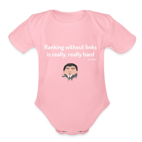 Ranking without Links - Organic Short Sleeve Baby Bodysuit