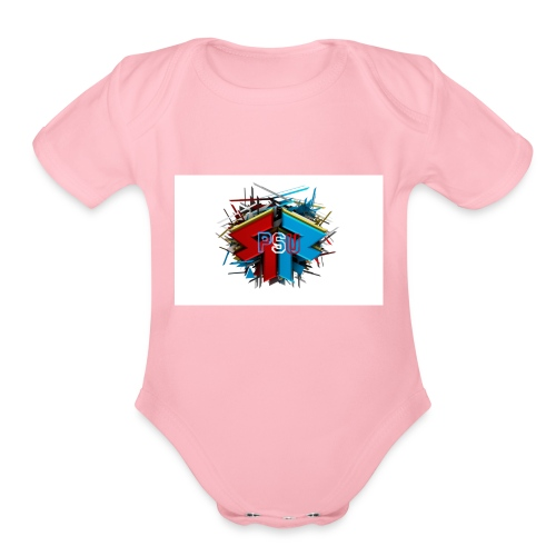 PSU Clan - Organic Short Sleeve Baby Bodysuit