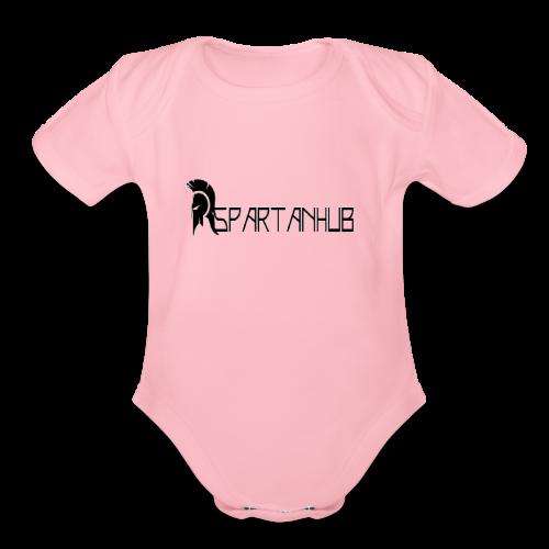 Spartanhub - Organic Short Sleeve Baby Bodysuit