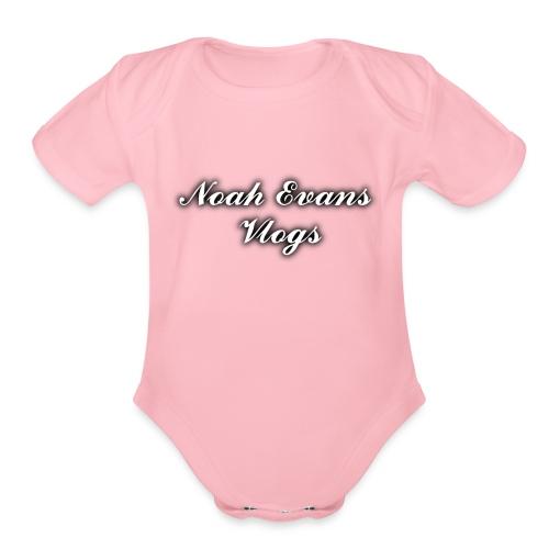 Noah Evans Vlogs - Organic Short Sleeve Baby Bodysuit
